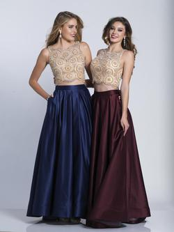 Style A5268 Dave & Johnny Red Size 14 Two Piece Dave And Johnny Burgundy A-line Dress on Queenly