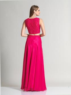 Style 2376 Dave & Johnny Pink Size 10 Prom Two Piece Dave And Johnny Straight Dress on Queenly