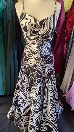 JESSICA MCKLINTOK Black Size 12 Silk Mermaid Dress on Queenly