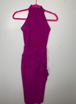 Chiara Boni La Petite Robe Purple Size 2 Tall Height Cocktail Dress on Queenly