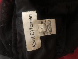 Ashley Lauren Black Size 6 Pageant Cocktail Dress on Queenly