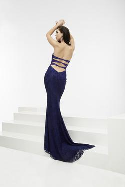 Style 5940 Jasz Couture Blue Size 4 Prom Sorority Formal Mermaid Dress on Queenly