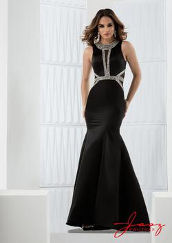 Style 5755 Jasz Couture Black Size 6 Sorority Formal Sequin Mermaid Dress on Queenly