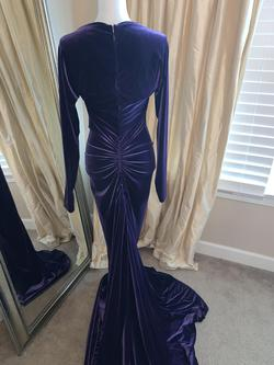 Marc Bouwer Purple Size 10 Mermaid Dress on Queenly