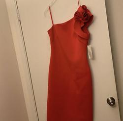 Eliza J Red Size 6 Pageant Cocktail Dress on Queenly