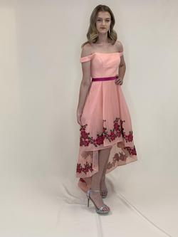 Larissa Couture LV Pink Size 6 A-line Dress on Queenly