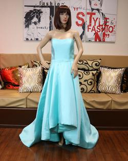 Andrea & Leo Couture Blue Size 14 Ball gown on Queenly