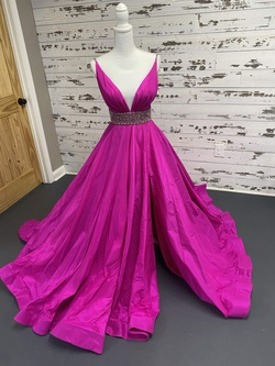 Sherri Hill Pink Size 6 Side Slit Pageant Ball gown on Queenly