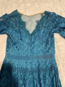 Blue Size 4 A-line Dress on Queenly