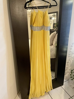 Yellow Size 2 A-line Dress on Queenly