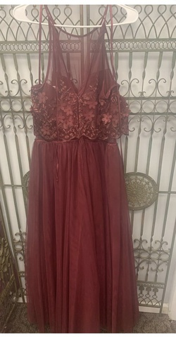 Red Size 20 A-line Dress on Queenly