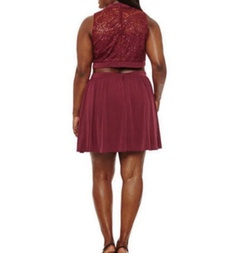 Red Size 24 Cocktail Dress on Queenly