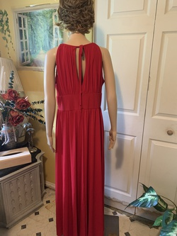 Red Size 16 Train Dress on Queenly