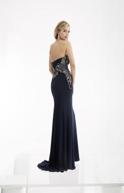Style 6051 Jasz Couture Blue Size 8 Sweetheart Tall Height Wedding Guest Mermaid Dress on Queenly