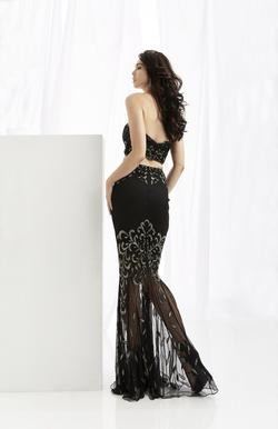 Style 1361 Jasz Couture Black Size 00 Sorority Formal Pageant Mermaid Dress on Queenly