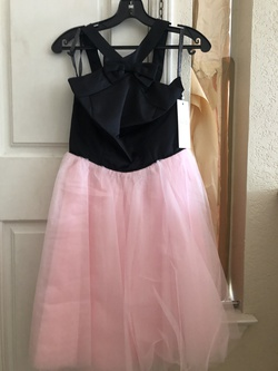 Gather & Gown Pink Size 4 Party Ball Gown A-line Dress on Queenly