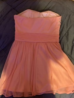 Orange Size 6 Cocktail Dress on Queenly