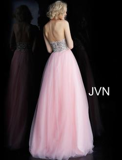 Style JVN52131 Jovani Pink Size 4 Prom Ball gown on Queenly