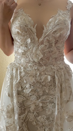 Nude Size 14 Train Dress on Queenly