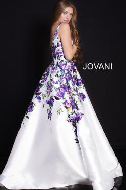 Style 60897 Jovani Multicolor Size 6 Tall Height Ball gown on Queenly