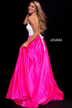 Style 60386 Jovani Pink Size 2 Tall Height Ball gown on Queenly