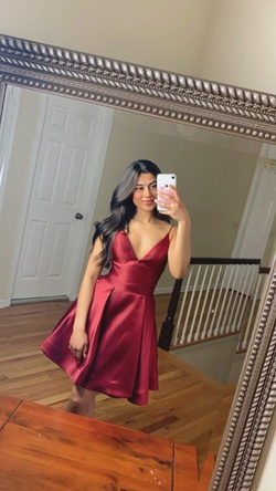 Jovani  Red Size 0 Pageant Cocktail Dress on Queenly