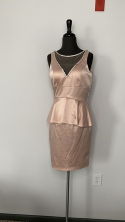 Johnathan Kayne Pink Size 8 Cocktail Dress on Queenly