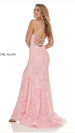 Rachel Allan Pink Size 4 Straight Dress on Queenly