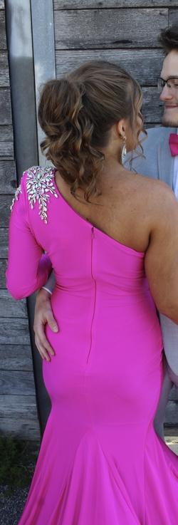 Johnathan Kayne Pink Size 4 Side slit Dress on Queenly