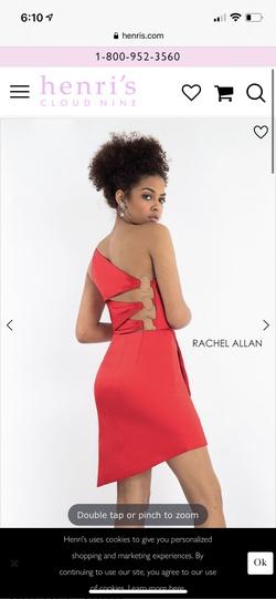 Rachel Allan White Size 6 Cocktail Dress on Queenly