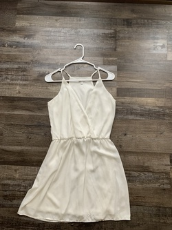 Charmin Charlies White Size 2 Cocktail Dress on Queenly