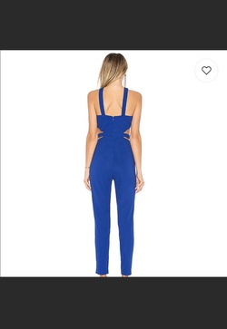 Revolve By the Way Blue Size 4 Jumpsuit Dress on Queenly
