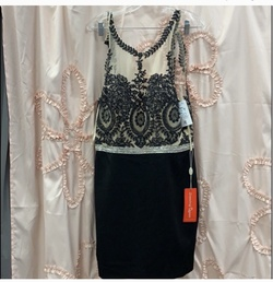 Black Size 14 Cocktail Dress on Queenly