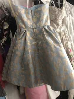 Blue Size 00 Cocktail Dress on Queenly