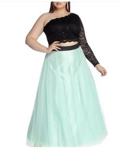 Green Size 16 A-line Dress on Queenly