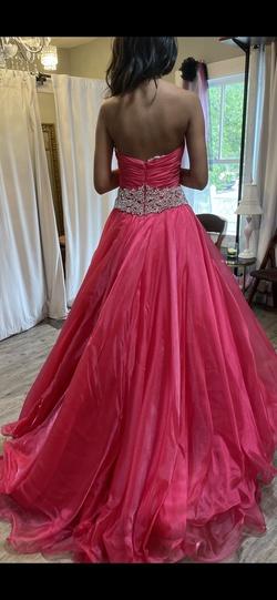 Rachel Allan Pink Size 4 Custom Ball gown on Queenly