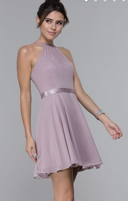 Purple Size 16 Cocktail Dress on Queenly