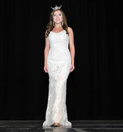 Sherri Hill White Size 6 Pageant Sweetheart Train A-line Dress on Queenly