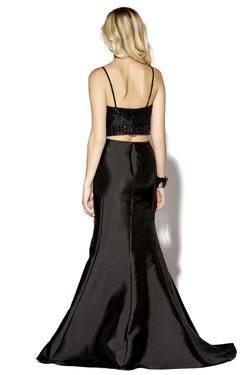 Style 16170 Jolene Black Size 8 Sweetheart Sorority Formal Tall Height Mermaid Dress on Queenly