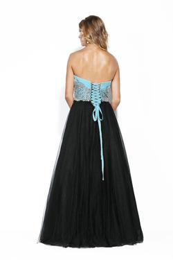 Style 14076 Jolene Black Size 4 Pageant Sweetheart Tall Height A-line Dress on Queenly