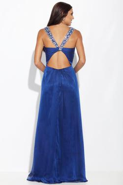Style E40027 Jolene Royal Blue Size 4 Prom Straight Dress on Queenly
