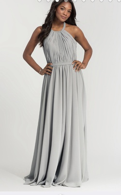 Silver Size 22 A-line Dress on Queenly
