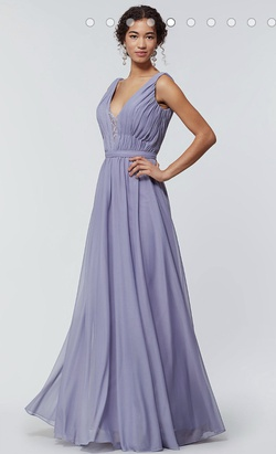 Purple Size 24 A-line Dress on Queenly