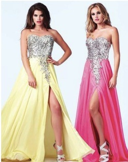 Style 85267A Mac Duggal Pink Size 10 Fun Fashion A-line Dress on Queenly