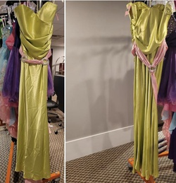 Style 45035 Terani Couture Green Size 10 Tall Height Straight Dress on Queenly