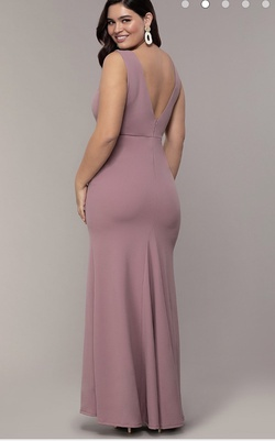Pink Size 14 Mermaid Dress on Queenly