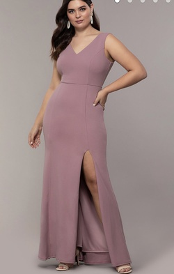 Pink Size 16 Mermaid Dress on Queenly