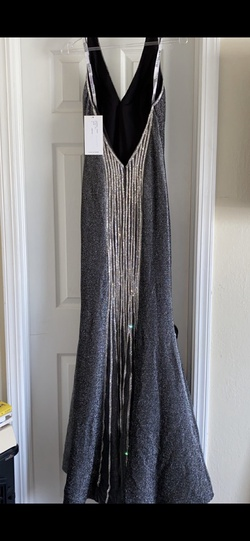 Blush Silver Size 6 Straight Dress on Queenly