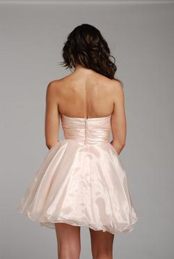 Style 797442 Jolene Pink Size 12 Silver Cocktail Dress on Queenly
