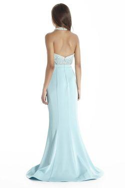 Style 17059 Jolene Light Blue Size 16 Mermaid Dress on Queenly
